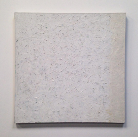 Robert Ryman, Untitled (1960), via Art Observed