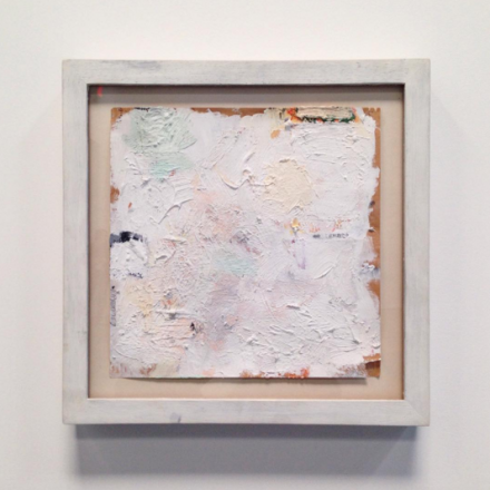 Robert Ryman, Untitled (1959), via Art Observed