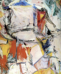 Willem de Kooning, Interchange, via Art Market Monitor